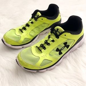 Under Armour Neon Running Shoes